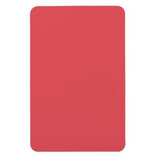 Plantilla rosada amelocotonada de color salmón del imán flexible