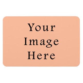 Plantilla rosada beige amelocotonada de la tendenc imán de vinilo