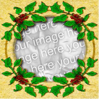 Plantilla santa del marco imán fotoescultura