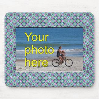 Plantilla Tu imagen aquí y Mosaico de Marruecos Alfombrillas De Raton