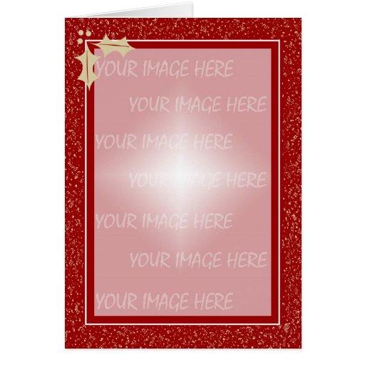 Plantilla VE del marco de la tarjeta de Navidad…