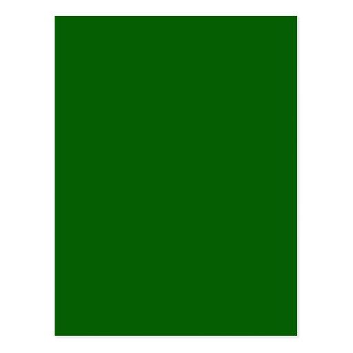 Plantilla verde del espacio en blanco de la tenden postales