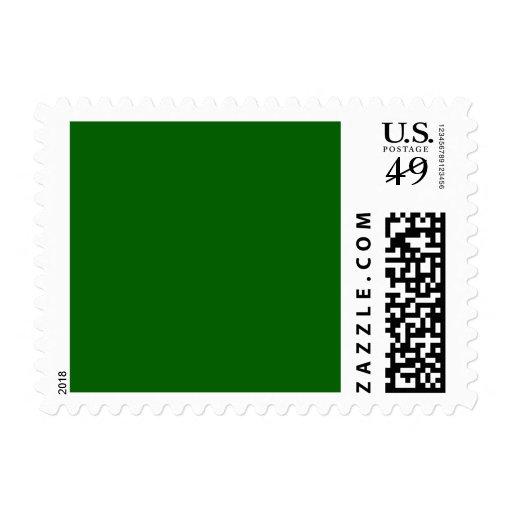 Plantilla verde del espacio en blanco de la tenden sellos