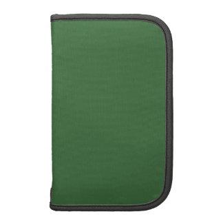 Plantilla verde organizador