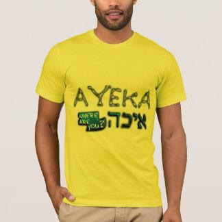 Plantilla vertical de la camiseta de los niños -