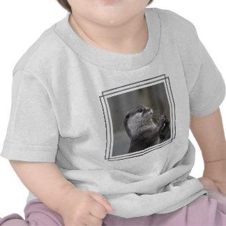 Plantilla vertical de la camiseta infantil - modif