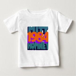 Plantilla vertical de la camiseta infantil - playera para bebé