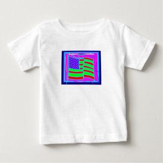 Plantilla vertical de la camiseta infantil - playeras