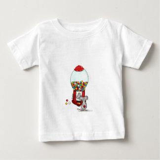 Plantilla vertical de la camiseta infantil - poleras
