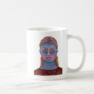 Plantilla vertical tazas de café