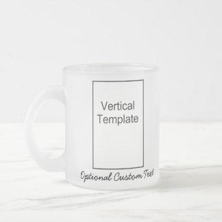 Plantilla vertical tazas