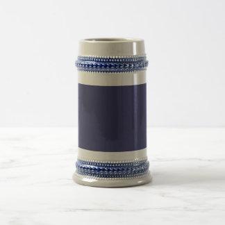 Plantilla violeta azul jarra de cerveza