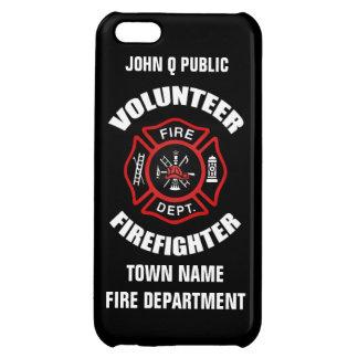 Plantilla voluntaria del nombre del bombero