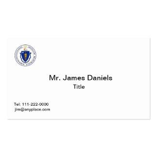 Plantillas de la tarjeta de visita del gran sello