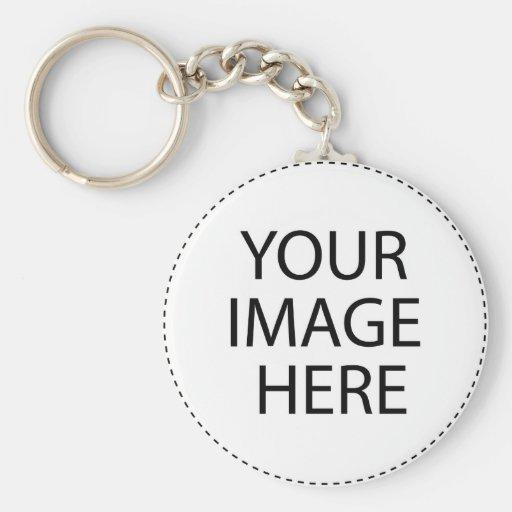 Plantillas de las imágenes de las imágenes llavero personalizado