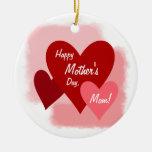 Plantillas felices del día de madre ornamentos de reyes