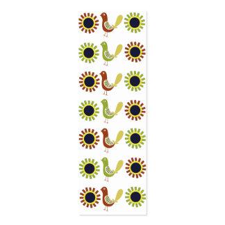 Plantillas populares de la tarjeta de visita de la