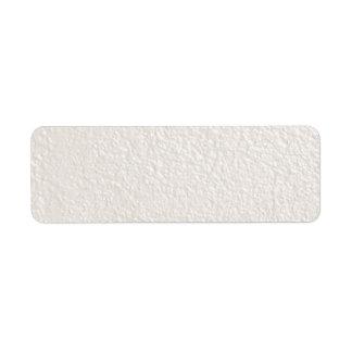 Plantillas texturizadas color crema de los fondos etiquetas de remite