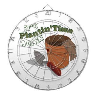 Plantin Time Dartboard With Darts