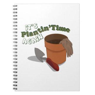 Plantin Time Notebook