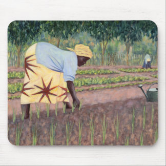 Planting Onions 2005 Mouse Pad