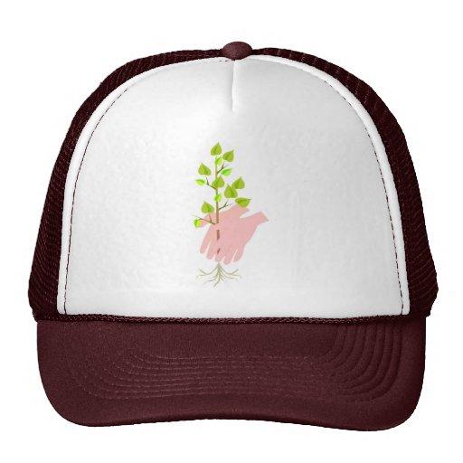 Planting Tree Earth Day Mesh Hats