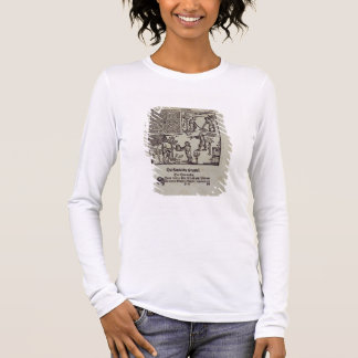 Planting trees, from 'The Dutch Gardener' by Johan Long Sleeve T-Shirt
