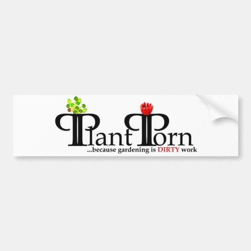 PlantPorn Bumper Sticker