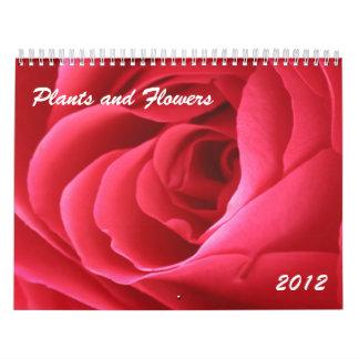 Plants and Flowers 2012 Calendar
