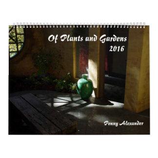 Plants and Gardens Calendar