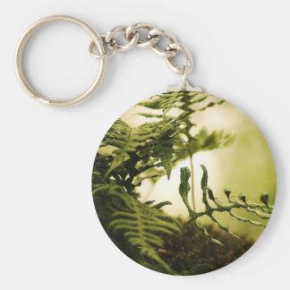 Plants and Water Scenery Keychain