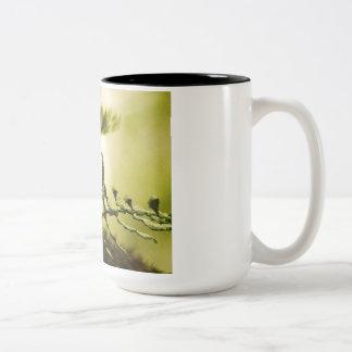 Plants and Water Scenery Mug