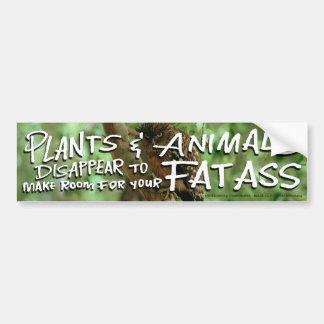 Plants&Animals DESAPARECE 2 hace el sitio 4 su FAT Pegatina De Parachoque