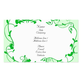 Plants Double-Sided Standard Business Cards (Pack Of 100)