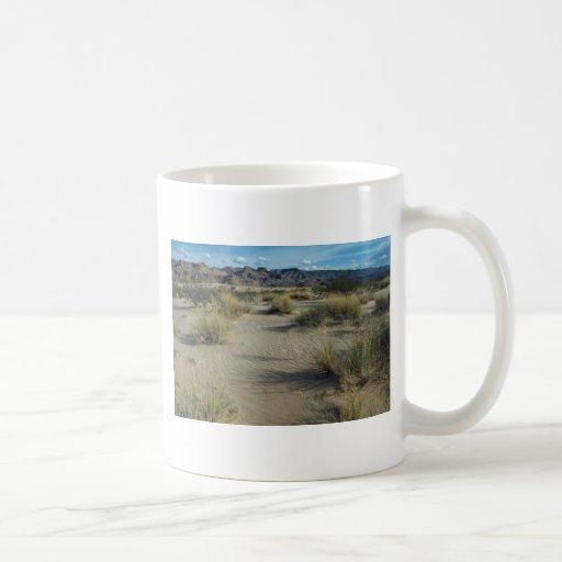 Plants In Sand Coffee Mugs