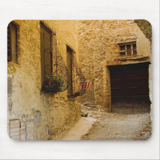 Plants in window boxes, San Gimignano, Siena Mouse Pad