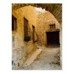 Plants in window boxes, San Gimignano, Siena Postcard