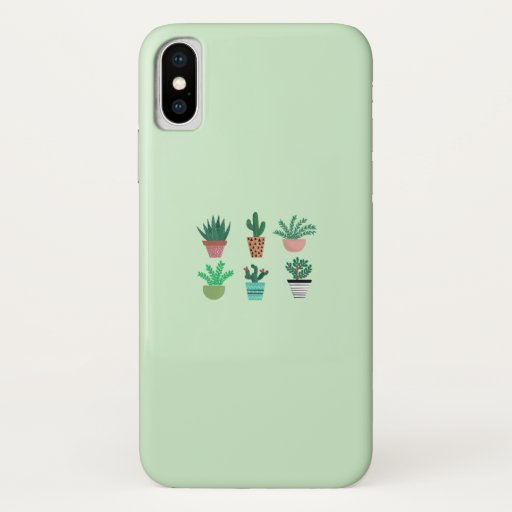 Plants Lover - Cactus iPhone X Case