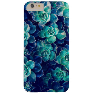 Plants of Blue And Green Barely There iPhone 6 Plus Case