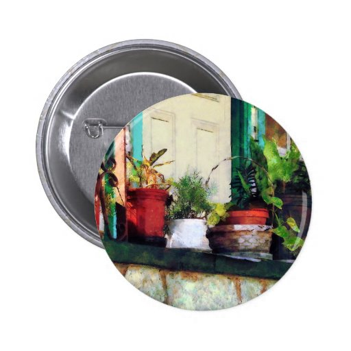 Plants on Porch Buttons