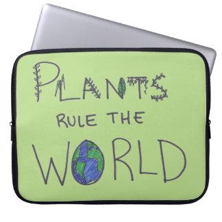 Plants Rule the World Laptop Sleeve