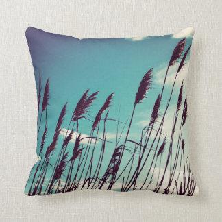 plants throw pillow