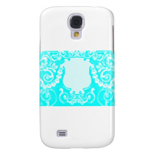 Plaque Cyan White The MUSEUM Zazzle Gifts Samsung Galaxy S4 Cover