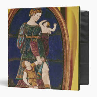 Plaque depicting Charity, Limousin, 1559 3 Ring Binder