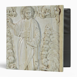 Plaque depicting Christ blessing the Apostles Binders