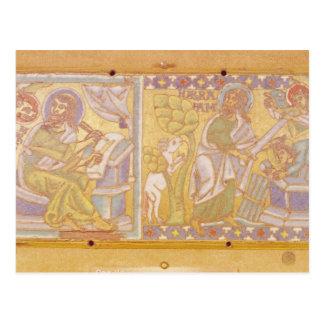 Plaque depicting St. Mark Postcard