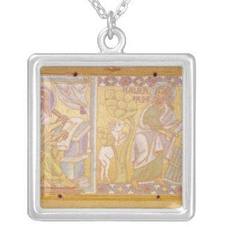 Plaque depicting St. Mark Square Pendant Necklace