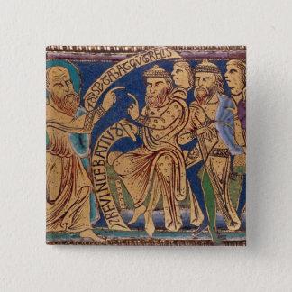 Plaque depicting St. Paul Button