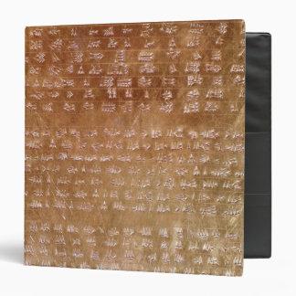 Plaque of Darius I  550-500 BC 3 Ring Binders