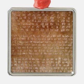 Plaque of Darius I  550-500 BC Metal Ornament